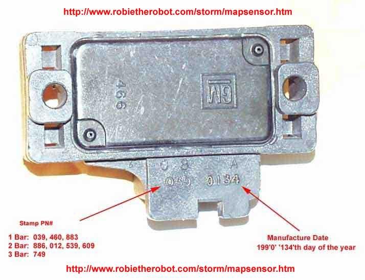 gm map sensor identification information 1 bar 2 bar 3 bar. Black Bedroom Furniture Sets. Home Design Ideas