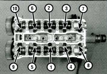 Sbc Main Cap Torque Sequence